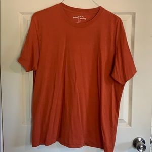 Eddie Bauer Burnt Orange Short Sleeve Tee
